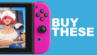 Upcoming Nintendo Switch games to buy
