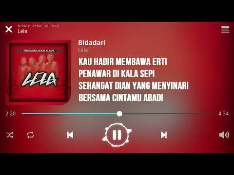 Lela - Bidadari [Lirik]