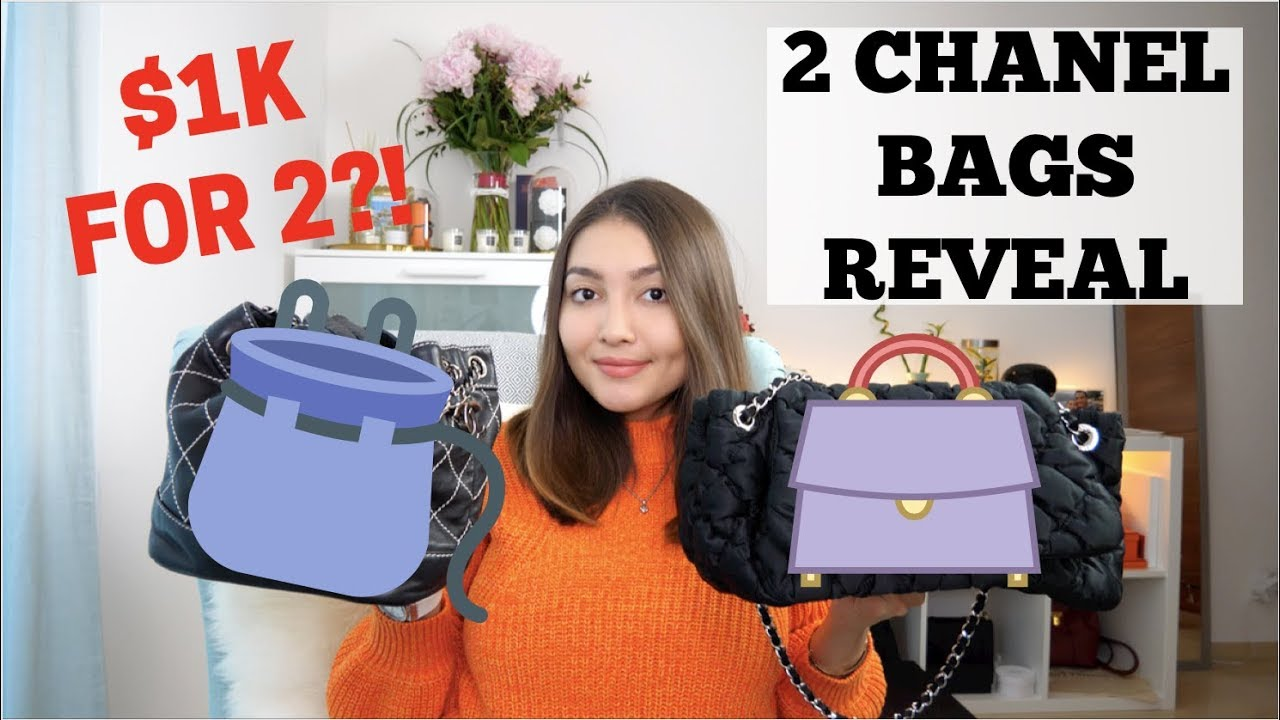 c03eeb58f4c14 Revealing my 2 new Chanel bags | Chanel Unboxing 2019 - YouTube