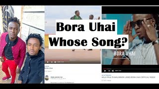 Did Willy Paul Copy The Song Bora Uhai from an Upcoming Artist? My Take!