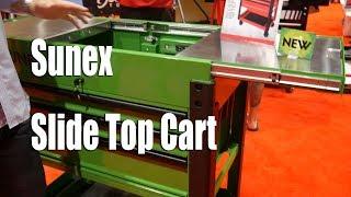 Sunex Slide Top Service Cart ISN Tool Dealer Expo