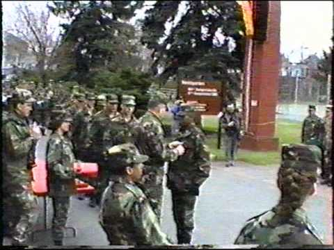 Award Ceremony at 106th Transportation Battalion, Russelsheim Germany   (cont. part 3 of 4)