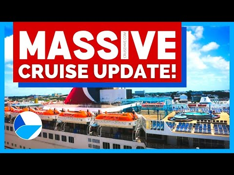 MASSIVE CRUISE NEWS UPDATE: Further Suspensions From Carnival, No More Alaska, Cayman Limits & MORE!