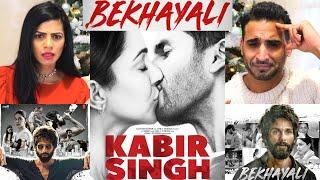 KABIR SINGH: BEKHAYALI Music Video Reaction | Shahid Kapoor, Kiara Advani | Sandeep Reddy Vanga