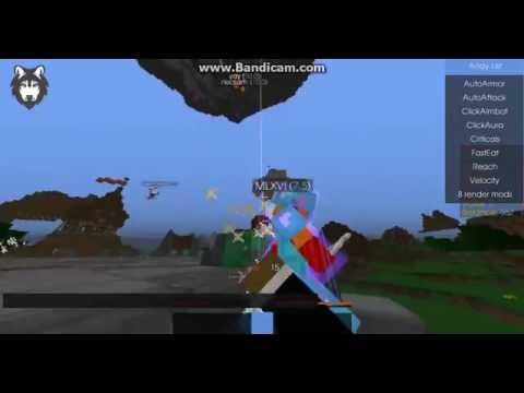 Minecraft Todas As Verções  HackWOLF 1.10