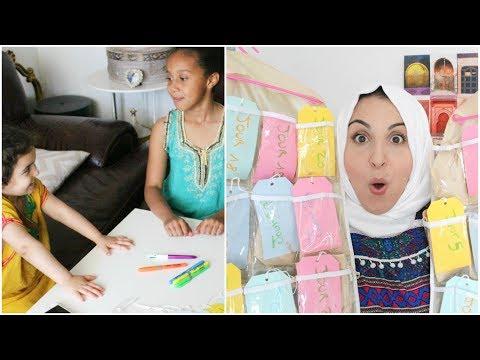 DIY : Calendrier du Ramadan pour les enfants 📆🌙 Ramadan'Up #4
