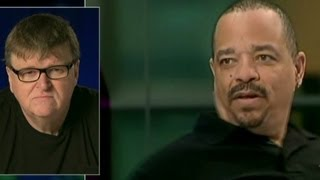 Ice T's gun comment leaves Michael Moore cold