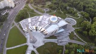 Взгяд Аиста на Беларусь Минск Немига-Стелла