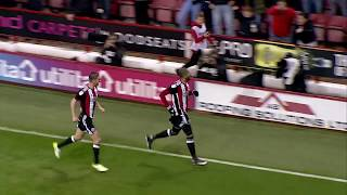 Blades 2-0 Wolves - match action