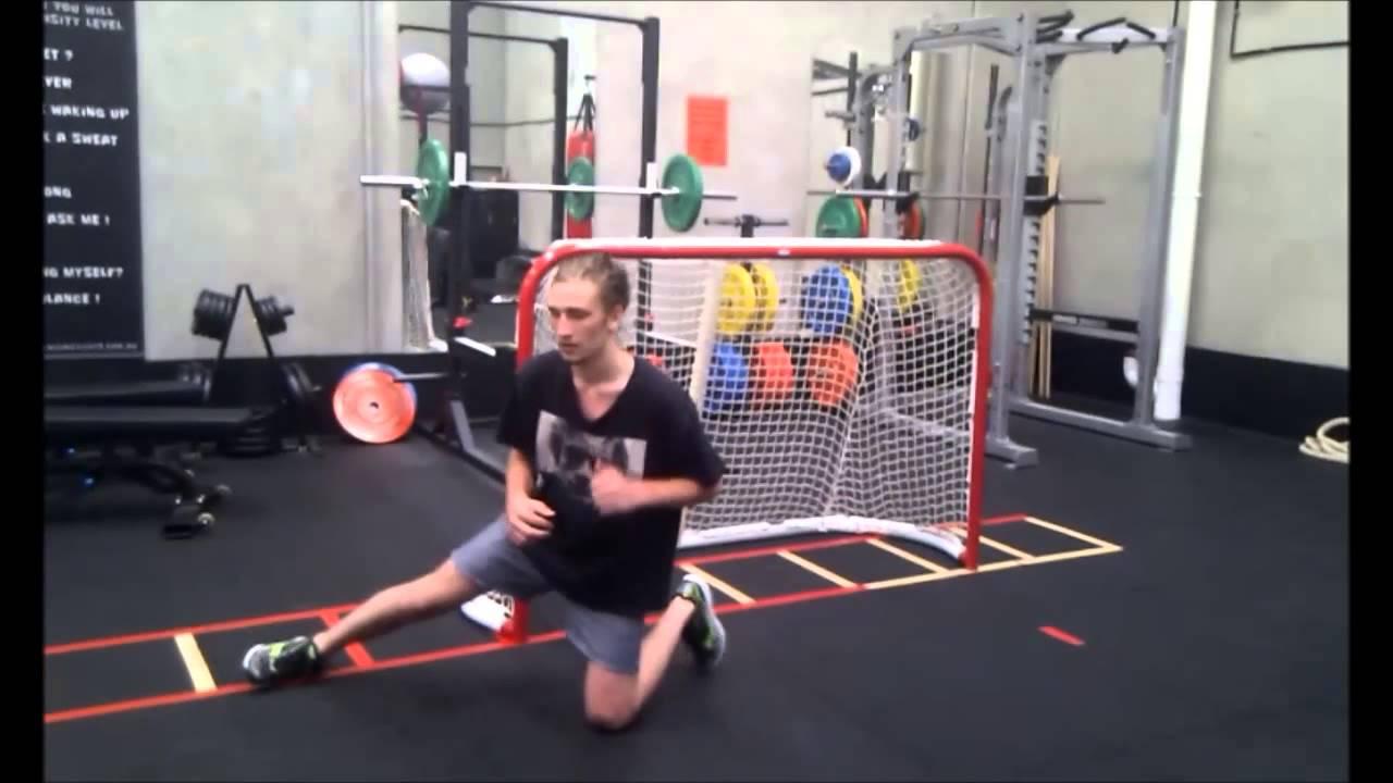 Ice Hockey Goalie Training Youtube