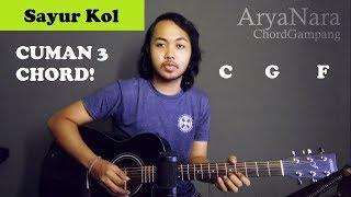 Chord Gampang (Sayur Kol - Punxgoaran) by Arya Nara (Tutorial Gitar) Untuk Pemula