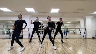 Team Tutberidze Moris Kvitelashvili Nika Egadze Daria Usacheva Maya Khromykh Latino dance