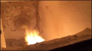 Работа пеллетной горелки РСЕ на лузге подсолнечника(, 2016-01-01T21:24:22.000Z)
