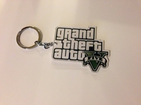 Unboxing the Collectible GTA 5 Logo Keychain