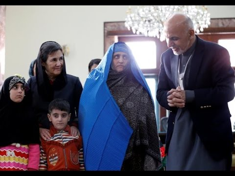 Sharbat Gulla, the Afghan girl with the green eyes returns home