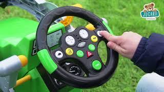Tractor cu pedale pentru copii Eicher Diesel ED 16