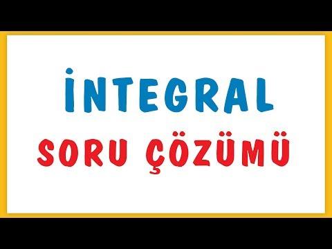 Integral Soru çözümü Şenol Hoca Matematik