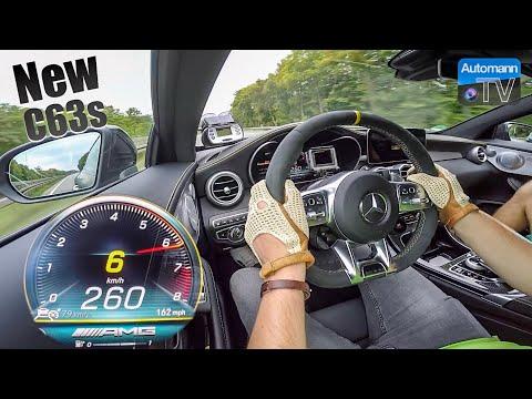 2019 C63s AMG (510hp) - 0-280 km/h RACE START🏁