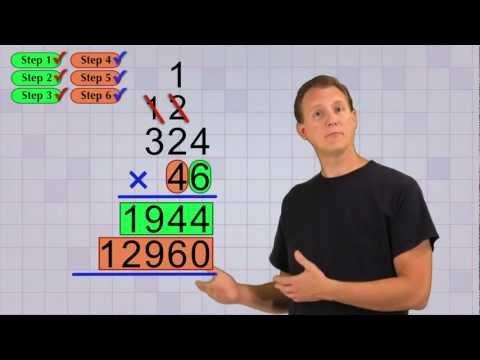 Деление многозначного числа на однозначное. 3-й класс
