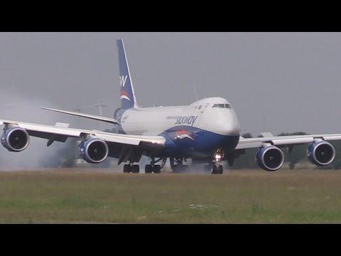 ᴴᴰ ✈ Silkway B747-8F - Azerbaijan Cargo @ AMS