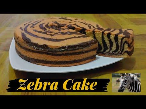 Zebra Cake, Kue Zebra enak, tanpa pelembut dan pengembang...