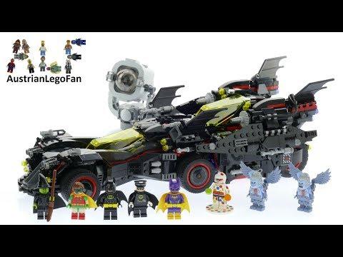 Lego Batman Movie 70917 The Ultimate Batmobile - Lego Speed Build Review
