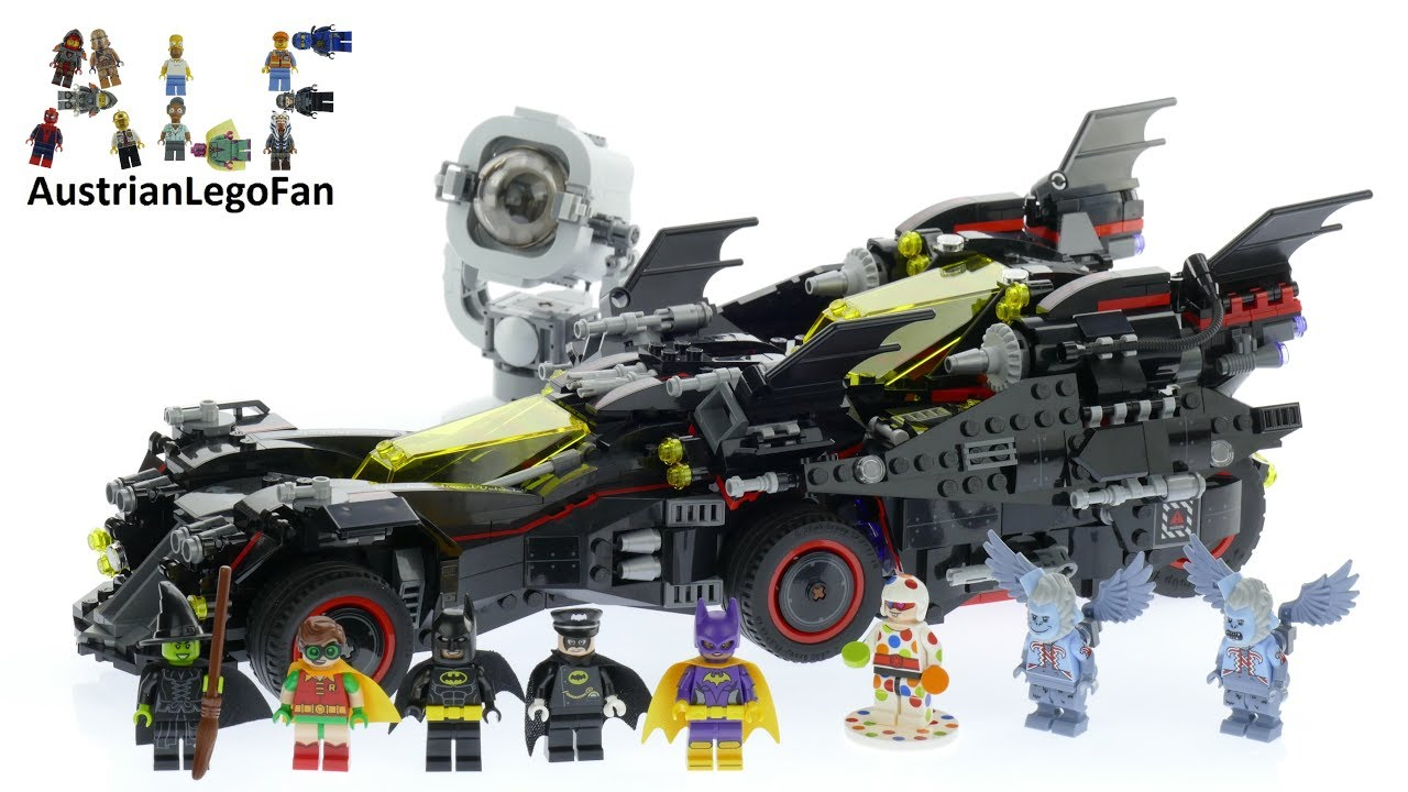 lego batman movie 70917 the ultimate batmobile lego speed build review youtube. Black Bedroom Furniture Sets. Home Design Ideas