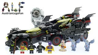 Lego Batman Movie 70917 The Ultimate Batmobile - Lego Speed Build Review