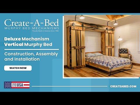 Murphy Bed Deluxe Vertical Kit