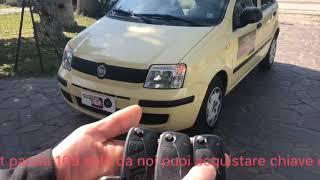 Codifica radiocomando Fiat Panda 169 e chiave duplicata