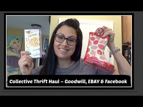 Collective Thrift Haul | Goodwill, EBAY & Facebook