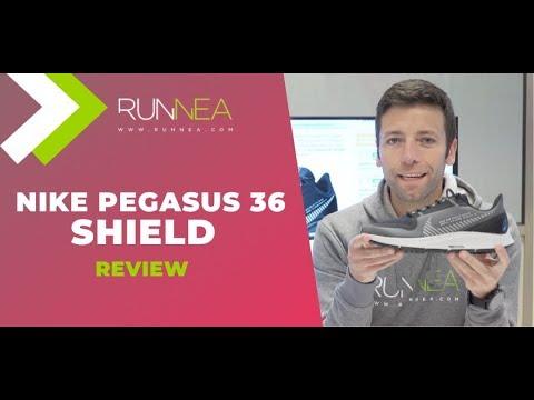 Nike Pegasus 36 Shield. No te mojas, no pasas frío. Review en español