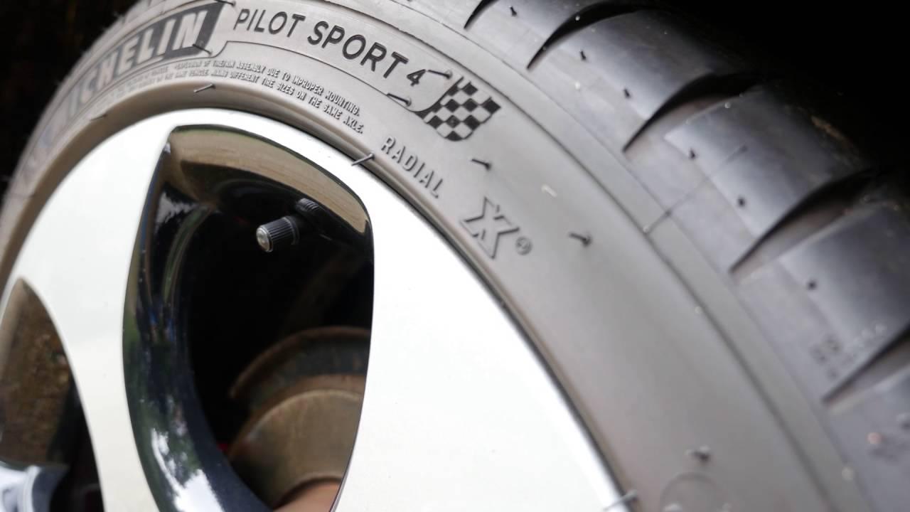 Michelin Pilot Sport >> MICHELIN Pilot Sport 4 Tyre - YouTube