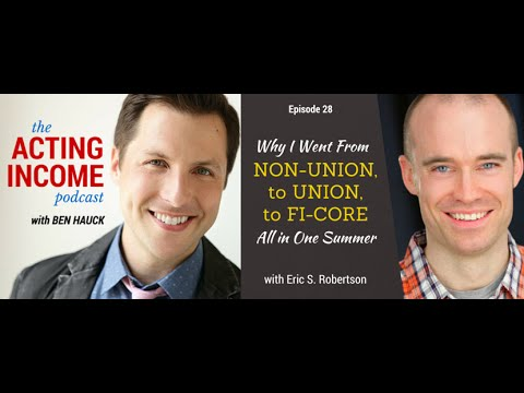 AIP028 | Why I Went from Non-Union, to Union, to Fi-Core All in One Summer - with Eric S. Robertson
