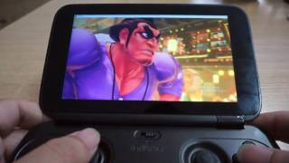 GPD WIN Game Test   Ultra Street Fighter IV