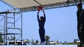 海上自衛隊の手旗信号の手旗信号