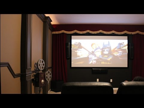 Theater Room Design Diy How To Build A Professional Looking Part 1 You