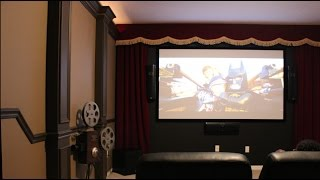 Theater Room Design Diy | How To Build A Professional Looking Theater Room | Theater Design Part 1