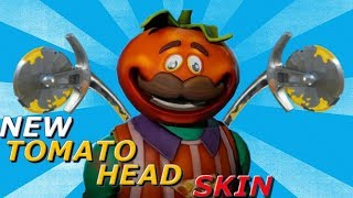 BRAND NEW Tomato Head SKIN And AXERONI PICKAXE In Fortnite! - Fortnite Battle Royale UPDATE!