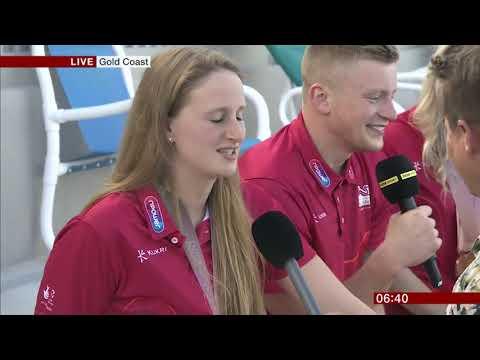 BBC Breakfast - Mike Bushell falls into pool