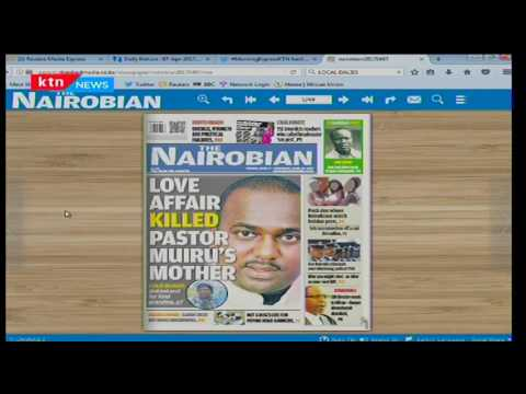 Deadly Love: How love affair killed Pastor Pius Muiru's mother