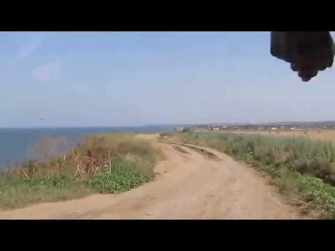 Поселок Кучугуры. Путь с грязевого вулкана. Июль 2014