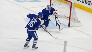 LEAFS LOCKER ROOM: Foligno, Rittich and the red hot Blue & White