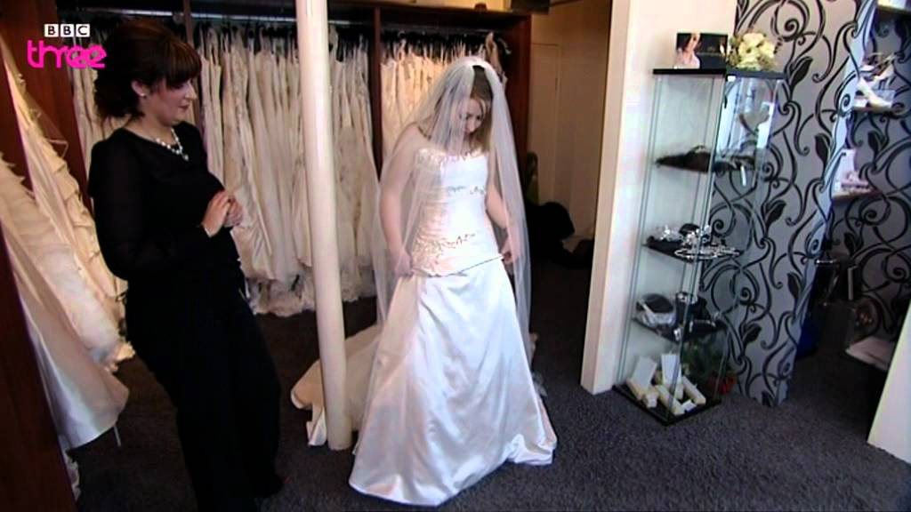 Clodaugh S Dress Reveal Don T Tell The Bride Bbc Three