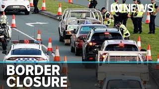 Queensland border closure sees motorists denied entry amid coronavirus fears   ABC News