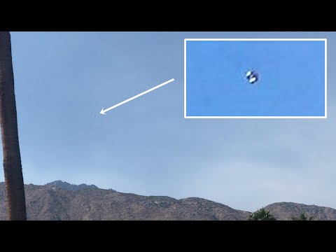 UFO Sighting in Palm Springs, California