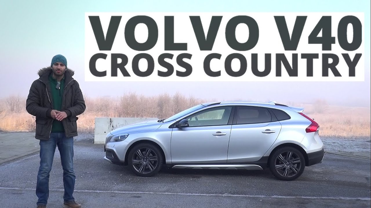 volvo v40 cross country 2 0 d4 drive e 190 km 2015 test 181 youtube. Black Bedroom Furniture Sets. Home Design Ideas