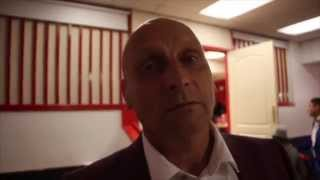 DADDY COYLE REACTS TO HIS SON TOMMY'S HEART-BREAKING DEFEAT TO LUKE CAMPBELL / RUMBLE ON THE HUMBER