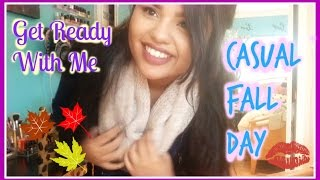 Get Ready With Me | Casual Fall Day Thumbnail