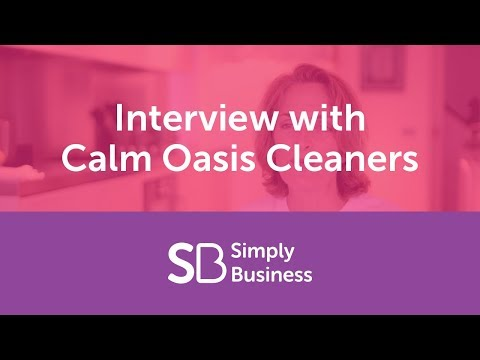 An interview with Harriet Thomas from Calm Oasis Cleaners.